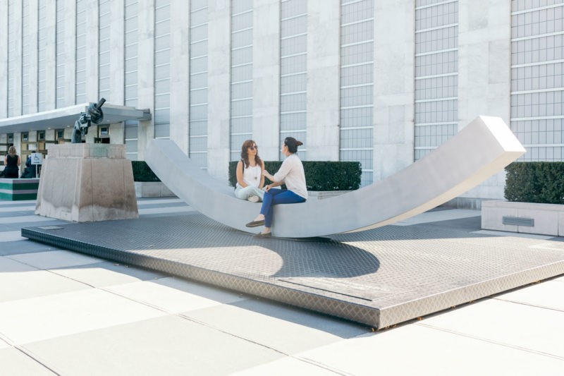 """""""The Best Weapon"""" at the UN Headquarters: A Symbol of Diplomacy and Dialogue"""