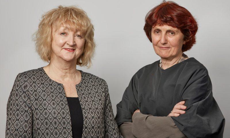 Yvonne Farrell and Shelley McNamara of Grafton Architects