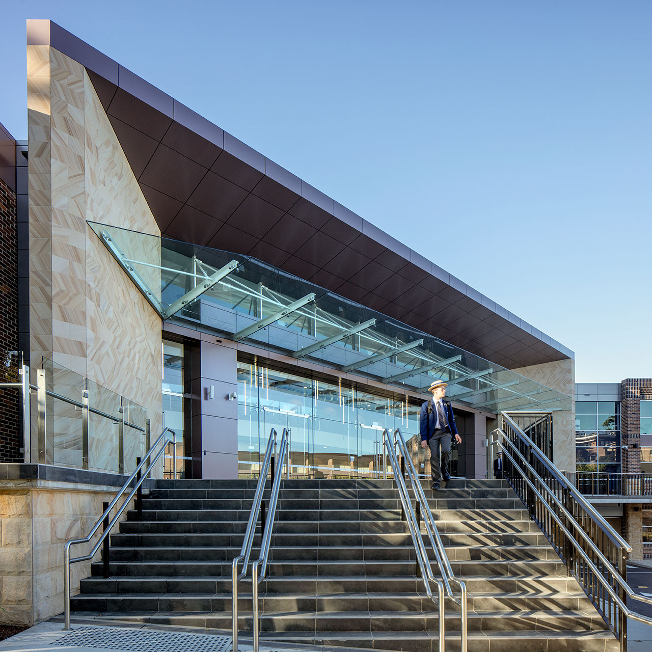 Knox Grammar School Performing Arts Centre by NBRS ARCHITECTURE