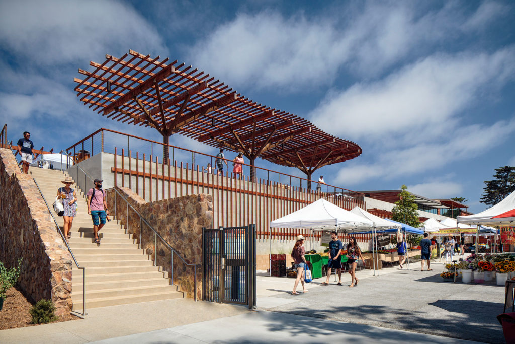 Del Mar Civic Center, California by Miller Hull Partnership