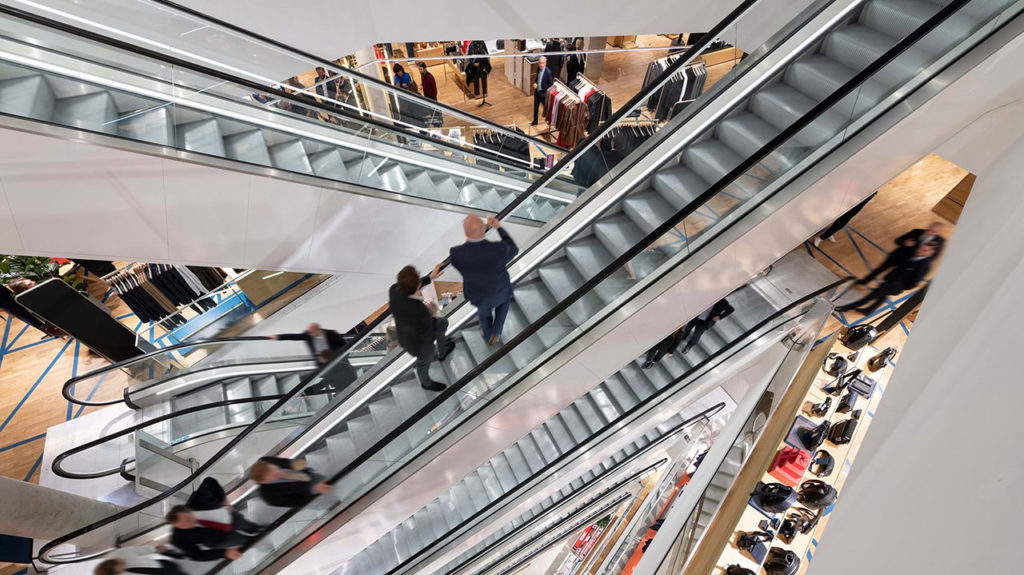 Galeries Lafayette open first department store in Luxembourg