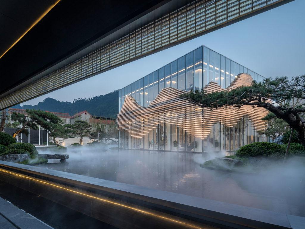 Shanxiao Sales Pavilion, Chongqing by aoe