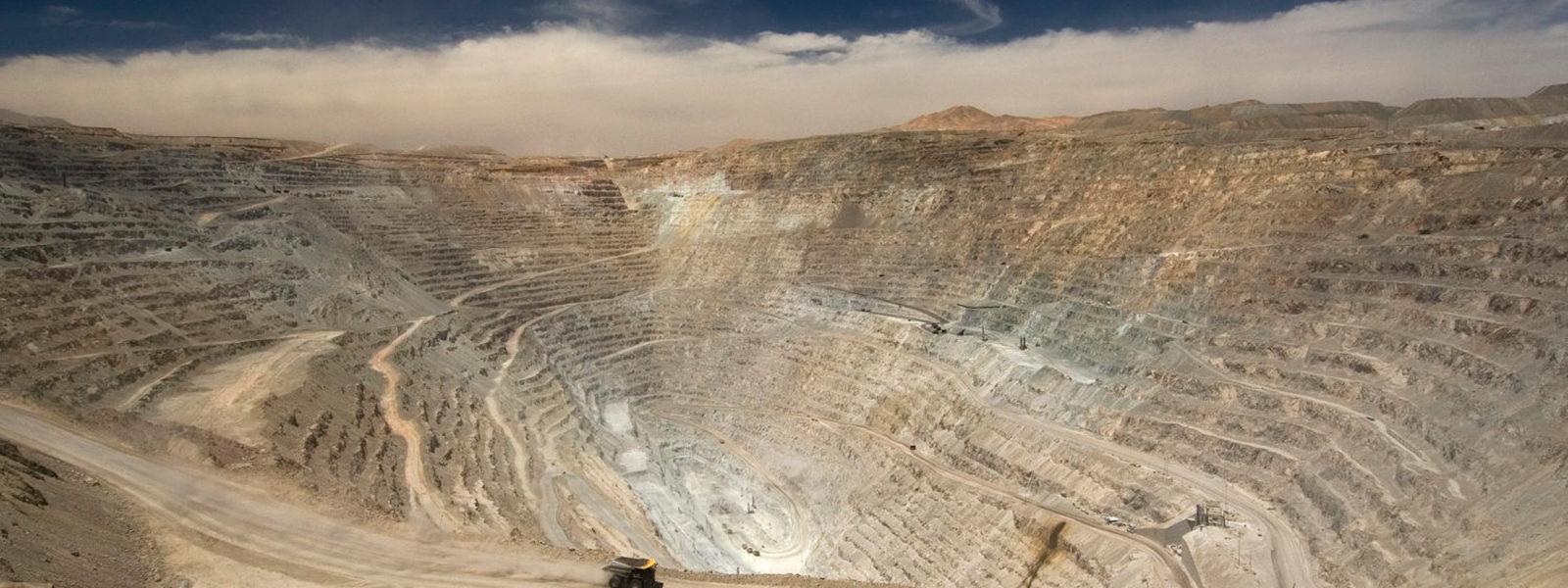 Chuquicamata Mine, a previous Kennecott holding in Chile