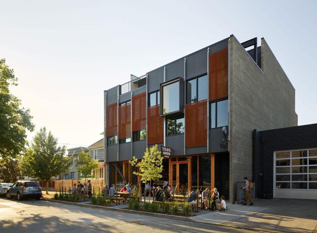 The Klotski Building by Graham Baba Architects