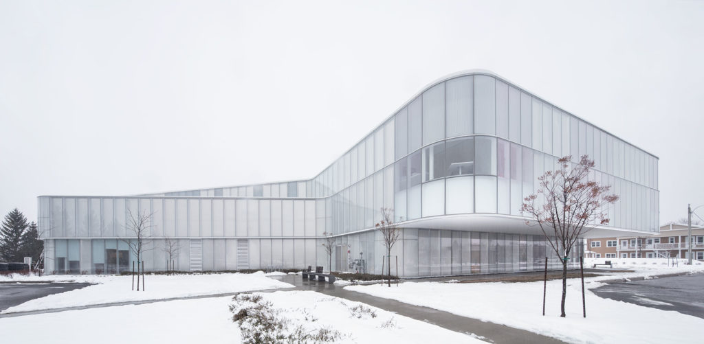 Drummondville Public Library by Chevalier Morales Architectes