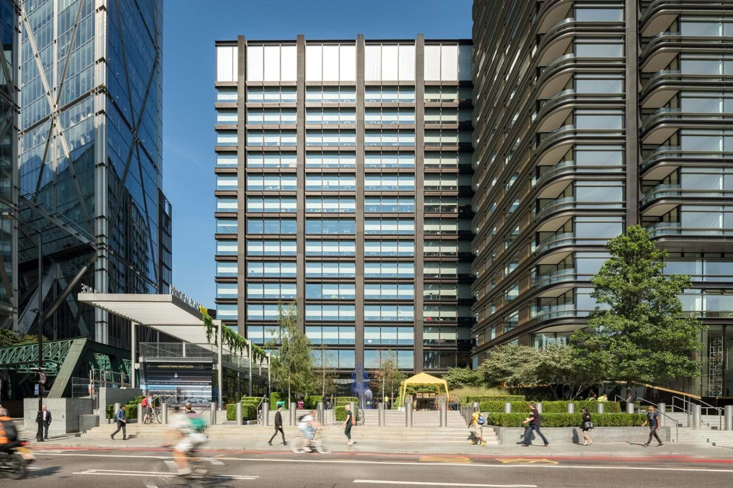 The completion of Foster's Principal Tower concludes Principal Place masterplan