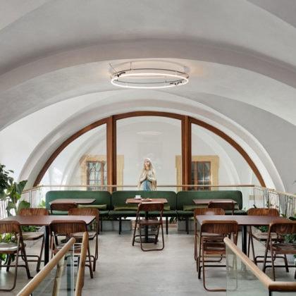 Cafe Konvikt by Denisa Strmiskova Studio