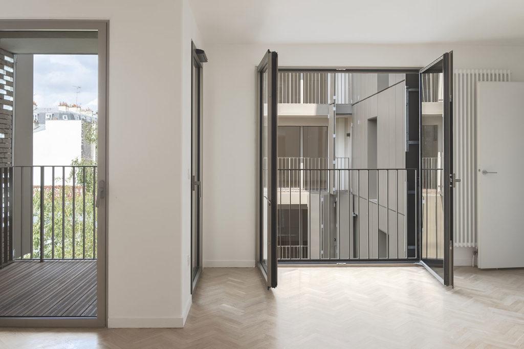 22 housing units in Paris by Avenier Cornejo architectes