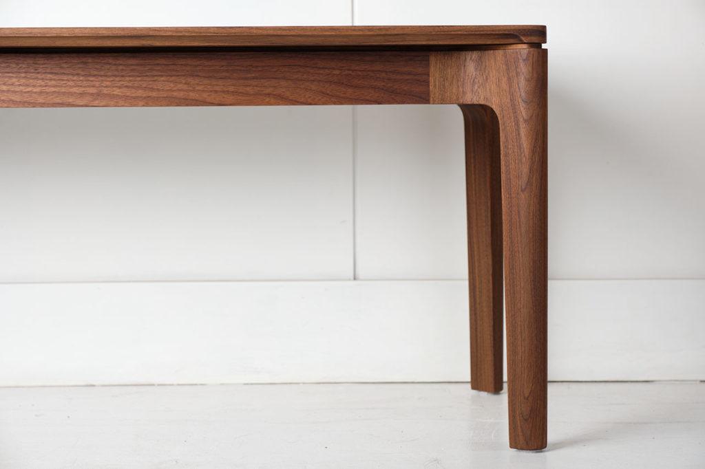 C112 bench shown in American Black Walnut