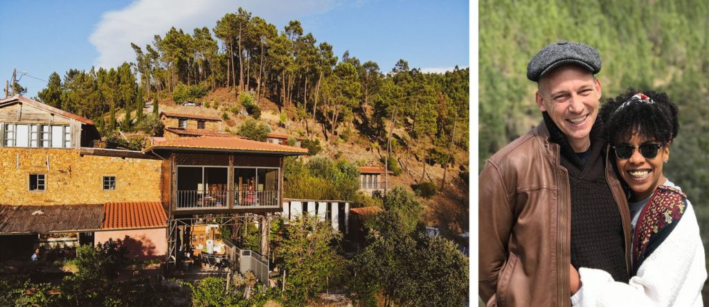 The Vale de Moses Yoga Retreat founders Vonetta and Andrew