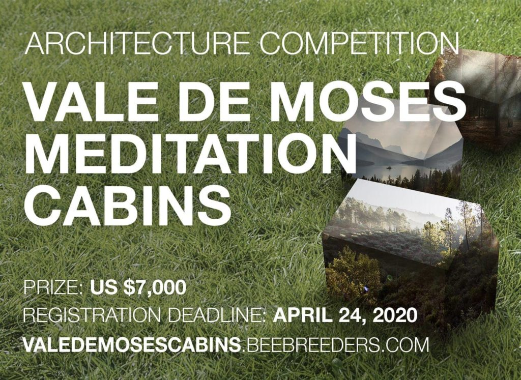 Call for submission: Vale De Moses Meditation Cabins