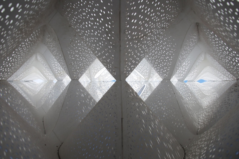Solar Gate by Tonkin Liu