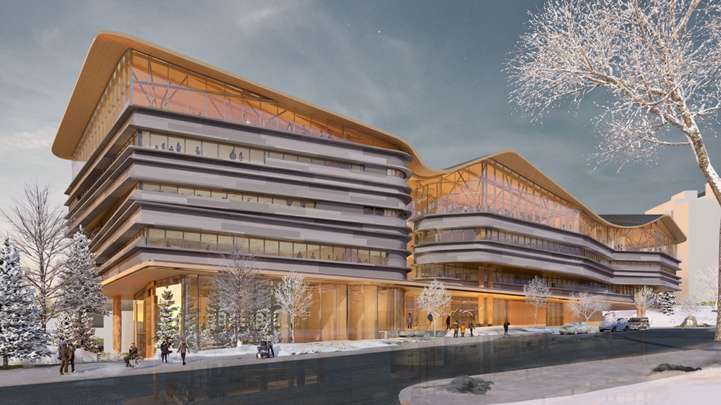 Diamond Schmitt reveals design for Ottawa library and archives