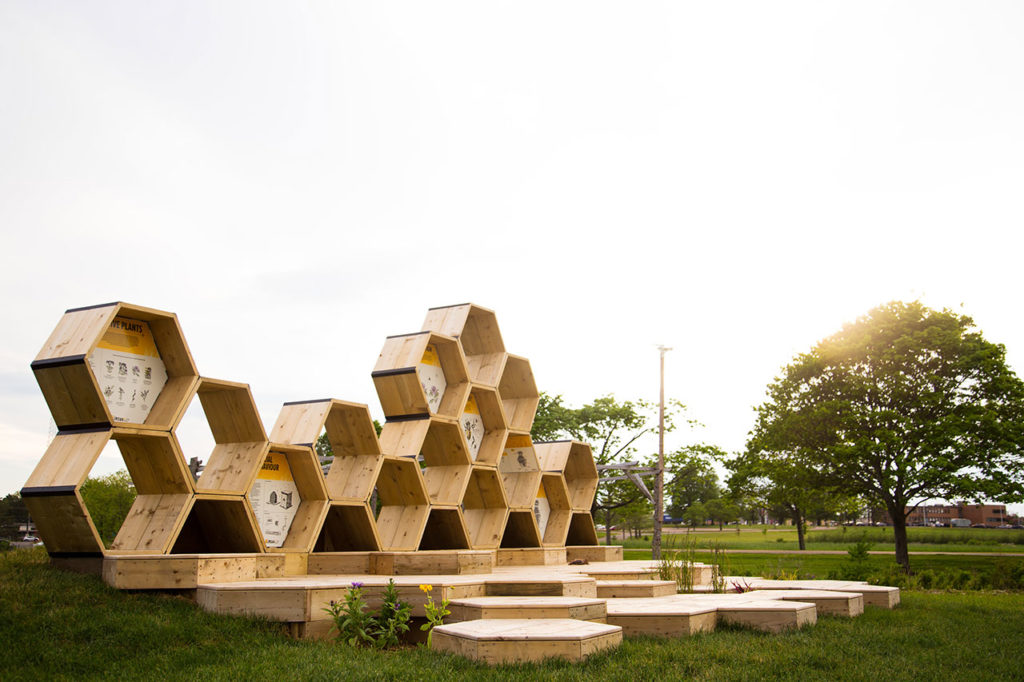 Urban Beehive Project by Nine Yards Studio