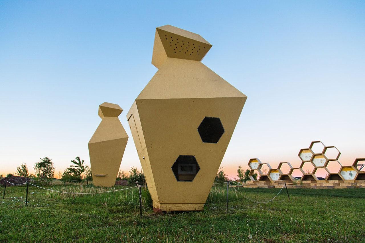 Urban Beehive Project by Nine Yards Studio