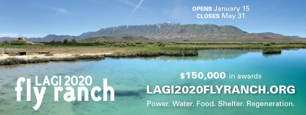 Land Art Generator and Burning Man 2020: Design the Future of Fly Ranch
