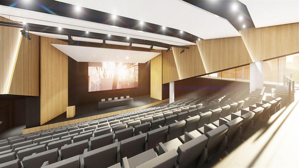 Auditorium - 300 Seats - Level 3