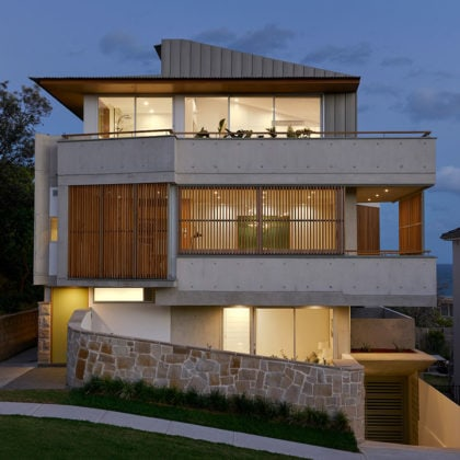 Tamarama Townhouses by David Mitchell Architects and Chapman Architecture