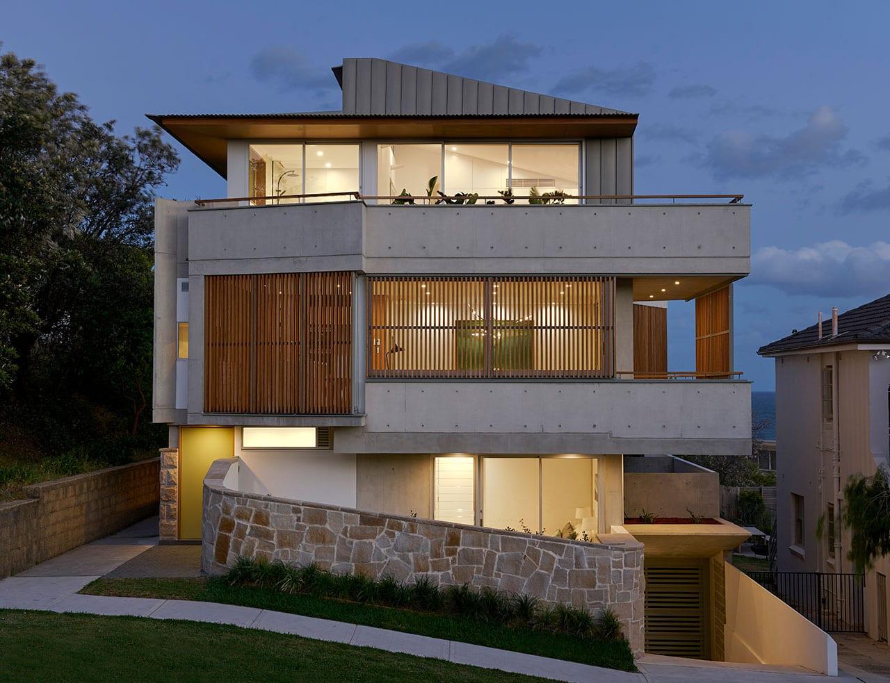 Tamarama Townhouses by David Mitchell Architects and Chapman Architecture
