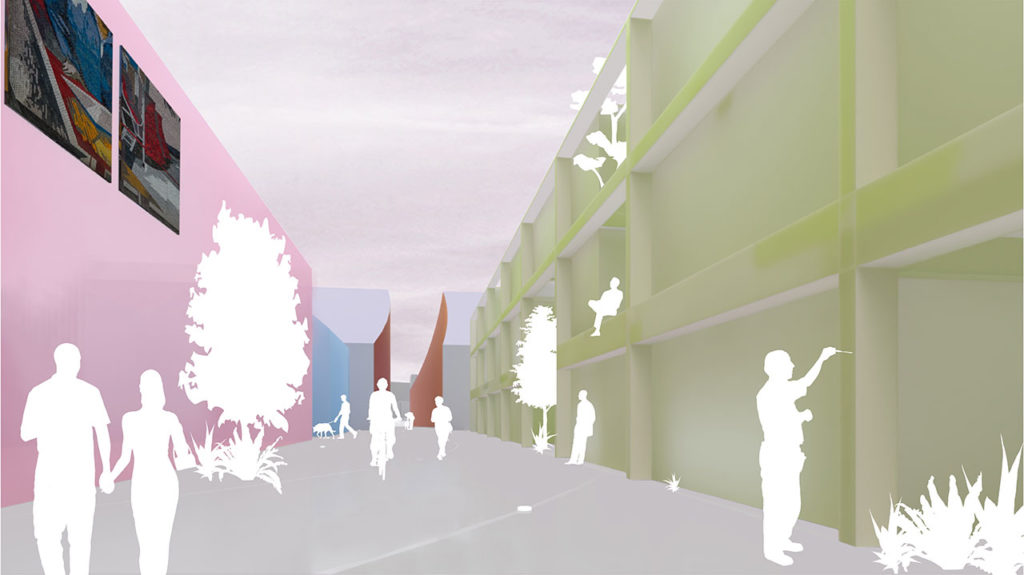 MVRDV Wins Competition to Design New Creative Quarter Potsdam with a Village-Inspired Masterplan