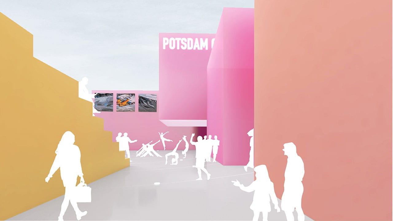 MVRDV Wins Competition to Design New Creative Quarter Potsdam with a Village-Inspired Masterplan