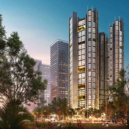 Foster + Partners wins design competition for unique residential project in Shenzhen
