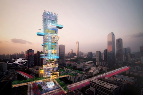 Envisioning Future Transport Hubs - Shenzhen
