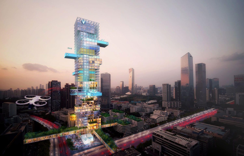 Envisioning Future Transport Hubs - Shenzhen
