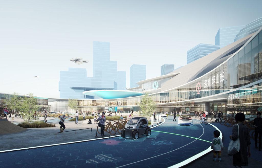 Integrating into transport-oriented developments – Shenzhen