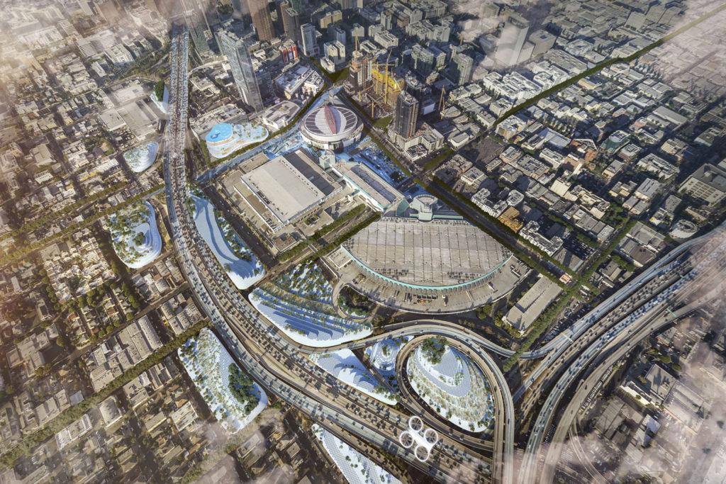 Integrating into comprehensive urban proposals - Los Angeles