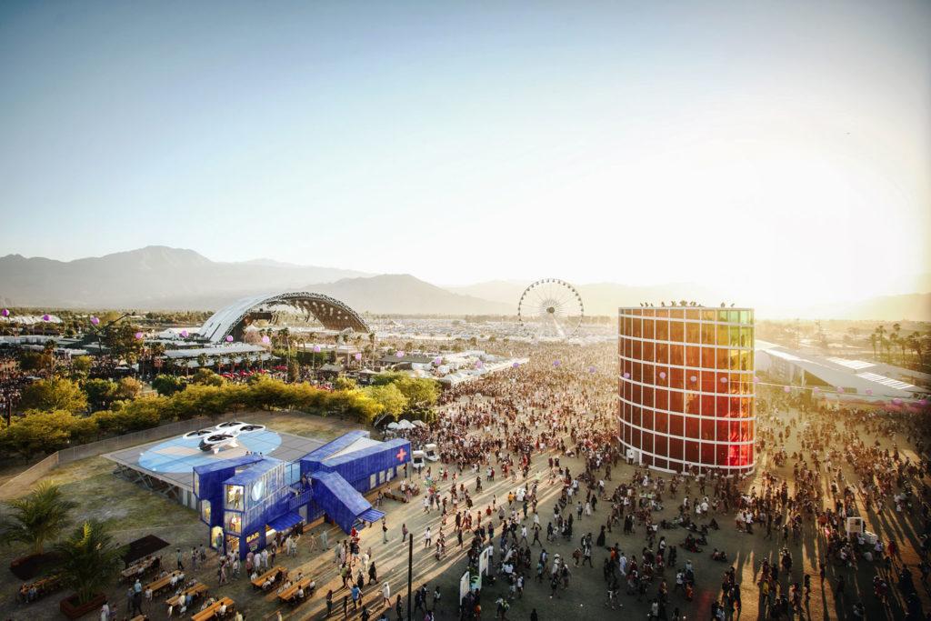 Facilitating access to temporary events - Coachella Festival