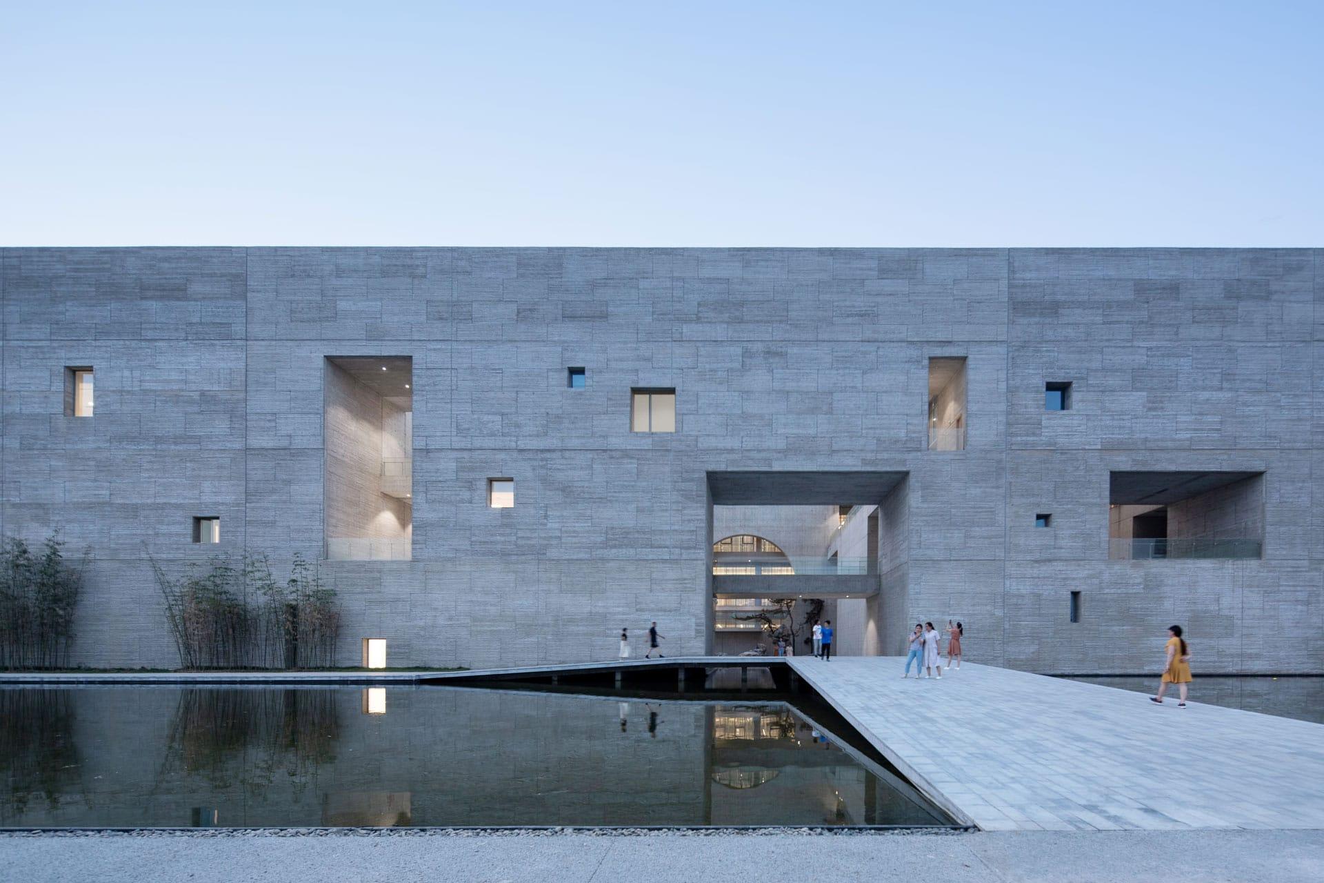 Shou County Culture and Art Center by Studio Zhu-Pei