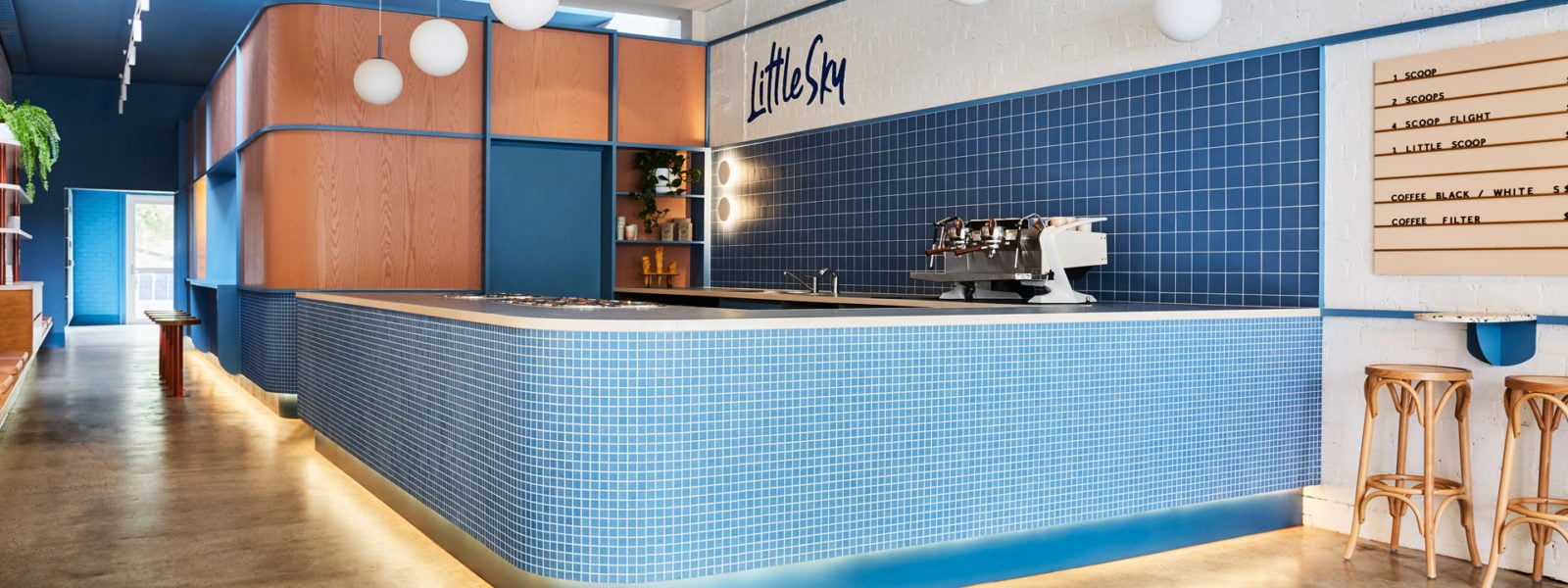 Little Sky Gelateria by Ewert Leaf