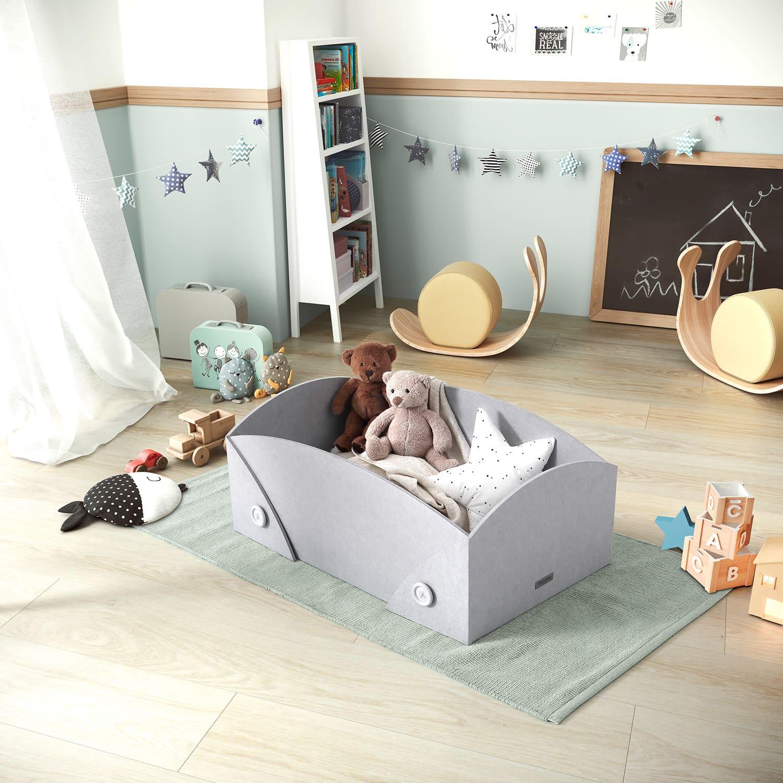 Cocoto, Ximo Roca Design mini-cradle that evolves with the baby