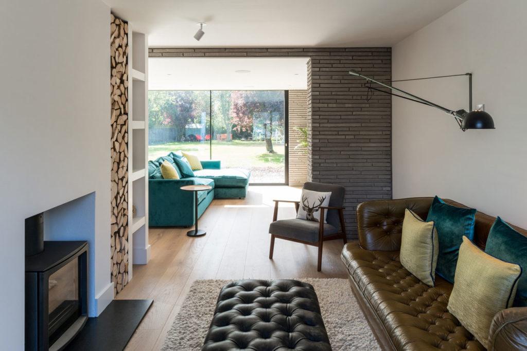 Long Brick House by Bradley Van Der Straeten
