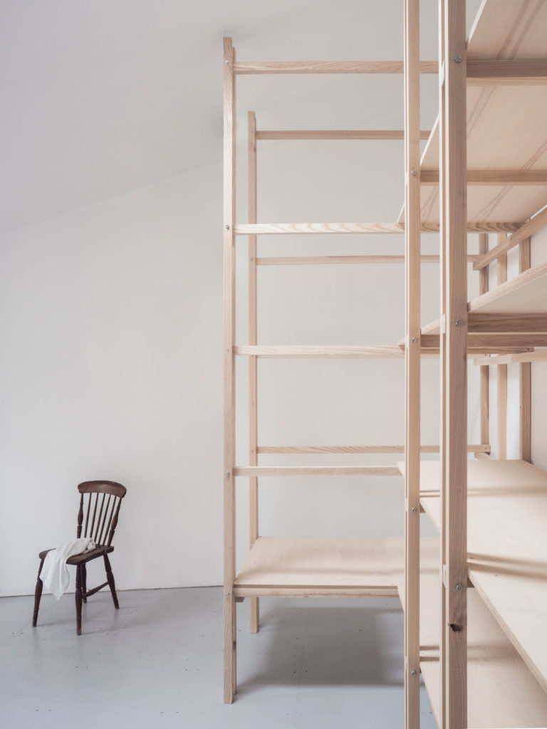 Flat Time House Artist Studio & Archive by EBBA Architects