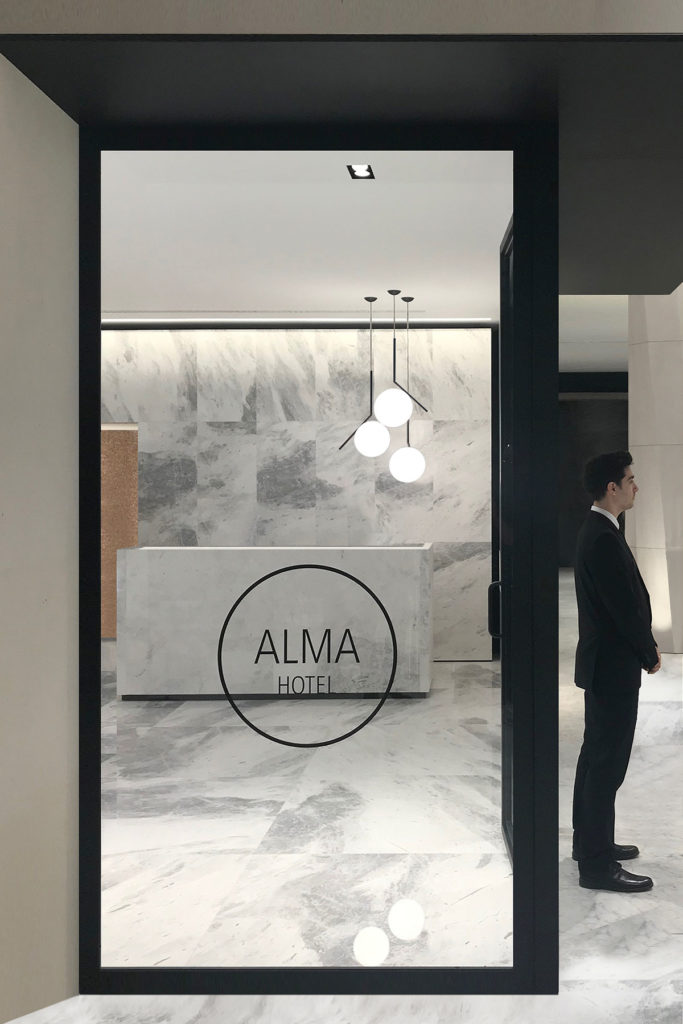 ALMA Hotel by Alexander Martin Architects