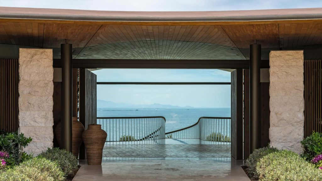 Dolunay villa by Foster + Partners is a private haven on the Aegean Sea