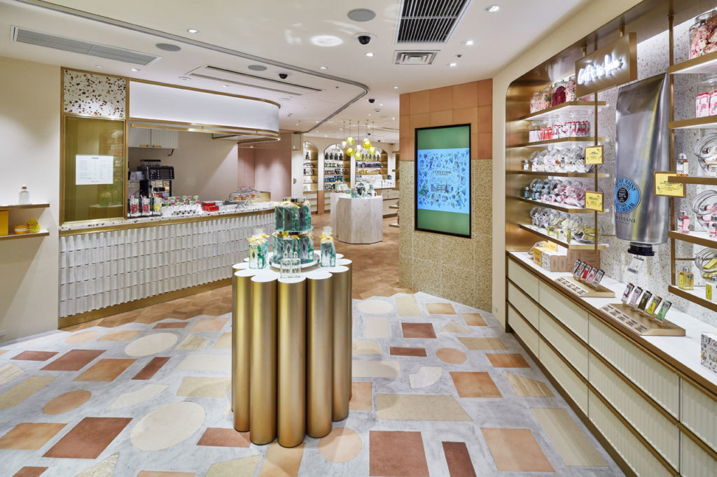 L'OCCITANE Shibuya by  AtMa inc.