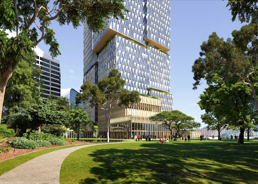 Henning Larsen Wins International Competition for Major Tower in Central Sydney