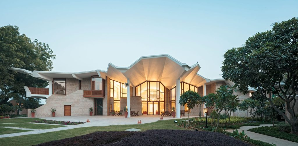 Embassy of Finland, New Delhi by ALA Architects