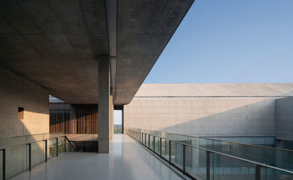 Shou County Culture and Art Center by Studio Zhu-Pei