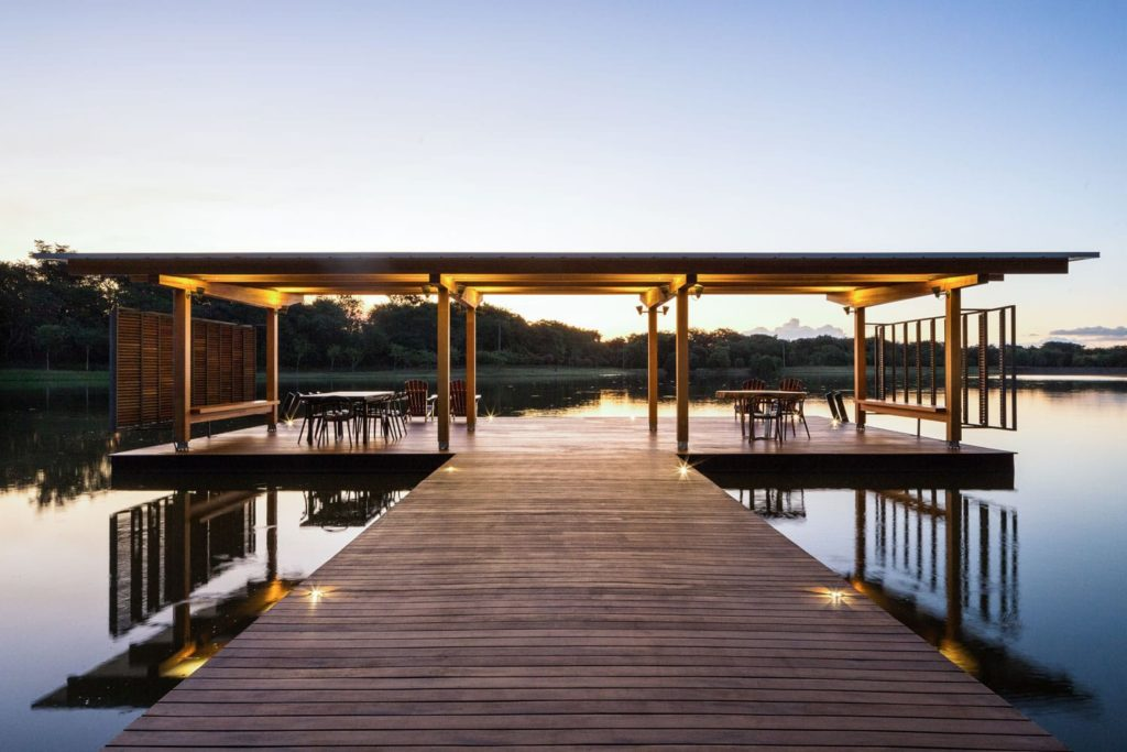 Floating Pavilion by Bruno Rossi Arquitetos