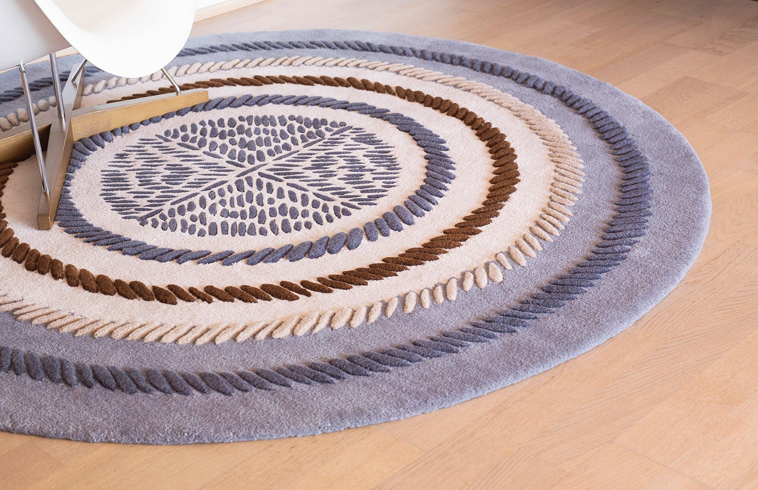 Pedres rug collection is inspired by centuries of architectural history