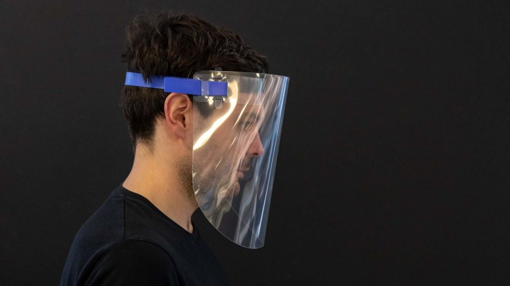Foster + Partners shares a prototype design for a reusable face visor