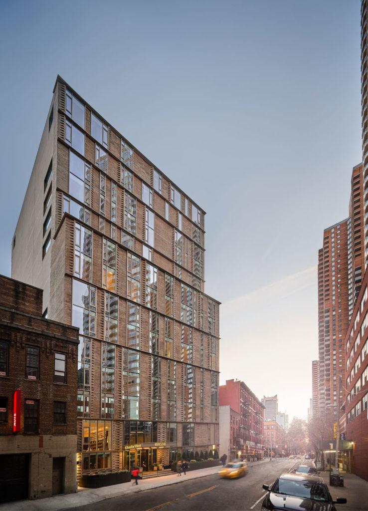 Main facade - 43rd Street