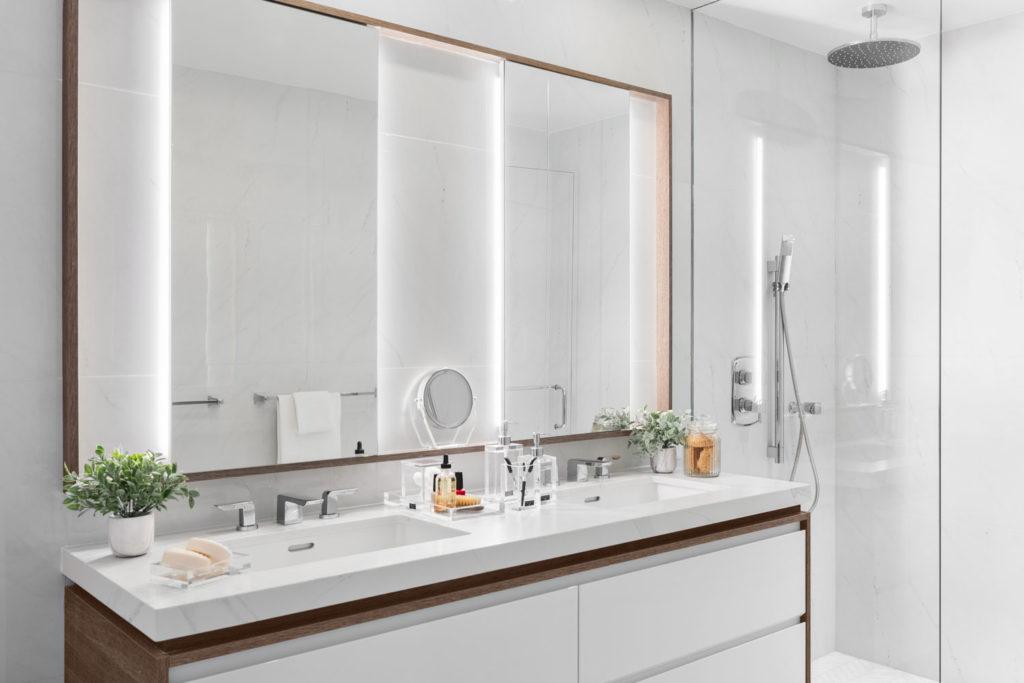 Condo unit - master bathroom