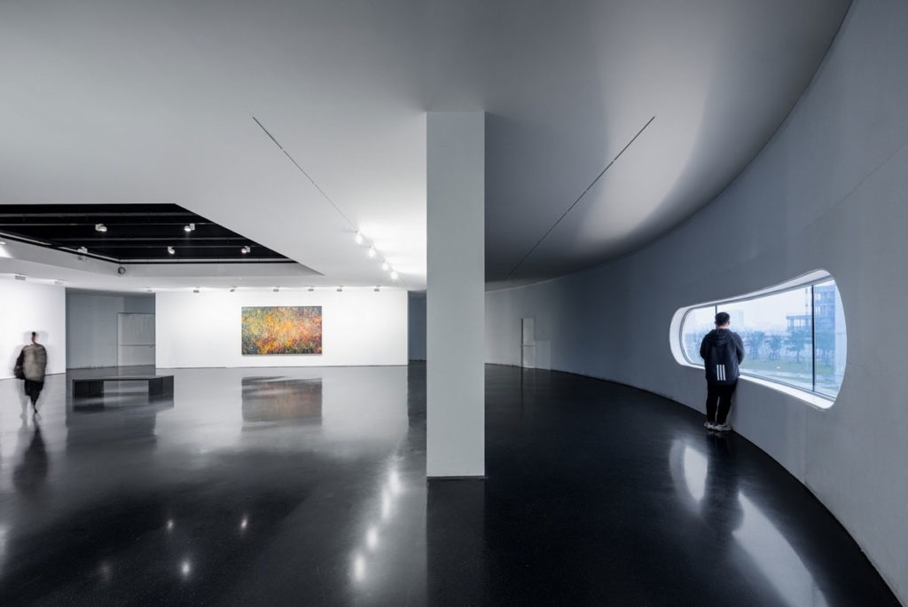 Gallery Space in Tank 4