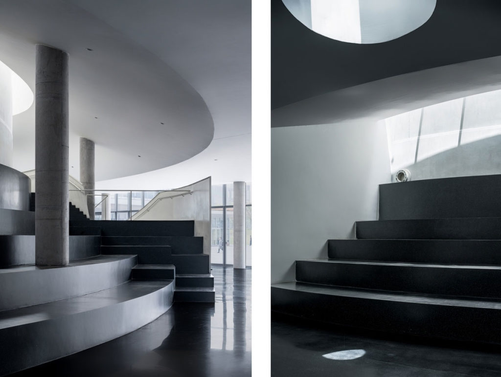 Steps Integrated with Seating