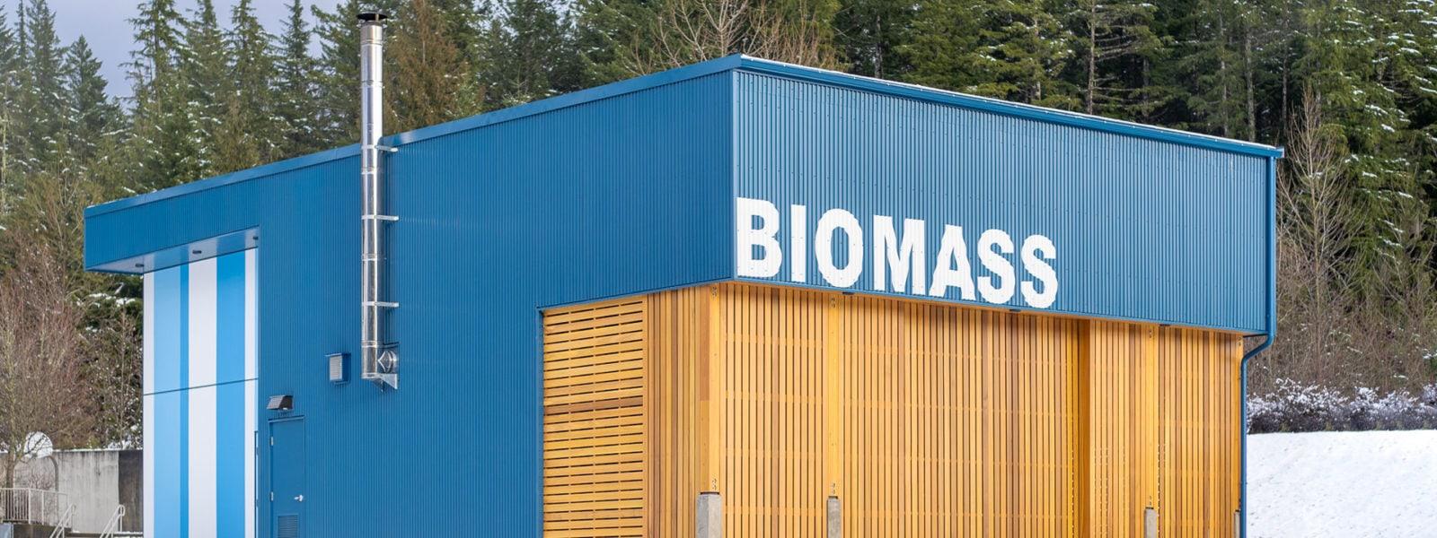 Don Ross Biomass Plant by studioHuB architects